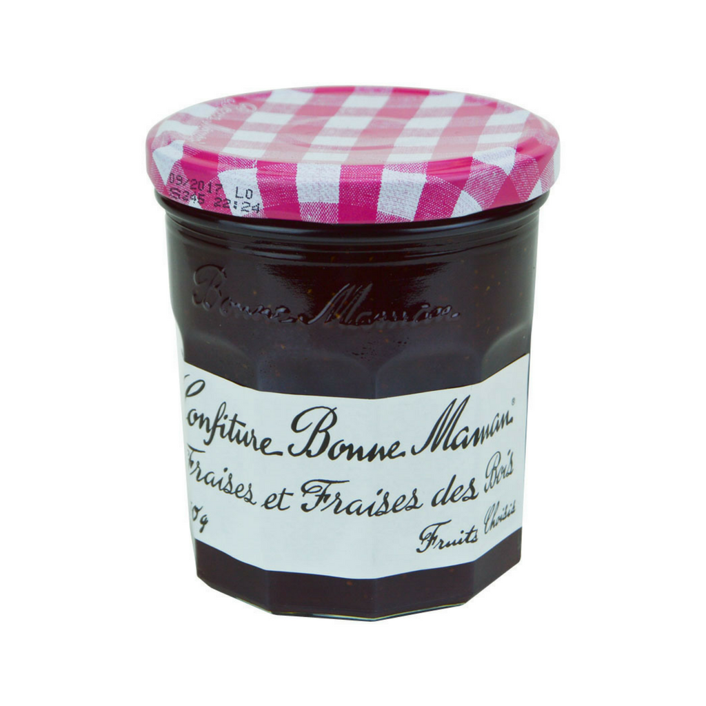 6 Pack Bonne Maman French Wild Strawberry Jam Best Price-Bonne Maman-Le Tablier Bleu | Online French Supermaket