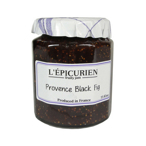 Epicurien Provence Black Fig Jam 11.6 oz-Epicurien-Le Tablier Bleu | Online French Supermaket