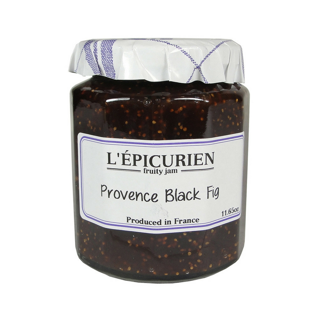 Epicurien Provence Black Fig Jam 11.6 oz Best Price-Epicurien-Le Tablier Bleu | Online French Supermaket