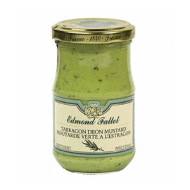 Edmond Fallot Green Tarragon Mustard 7.4 oz (210g)-Edmond Fallot-Le Tablier Bleu | Online French Supermaket