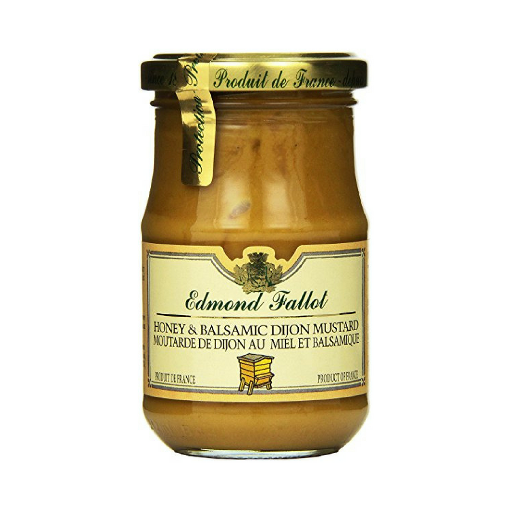 Edmond Fallot Honey Balsamic Dijon Mustard 7.4 oz (210g)-Edmond Fallot-Le Tablier Bleu | Online French Supermaket