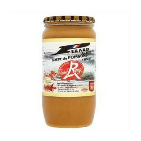 Perard French Fish soup · 850ml-FRENCH ÉPICERIE-Perard-Le Tablier Bleu | Online French Supermaket