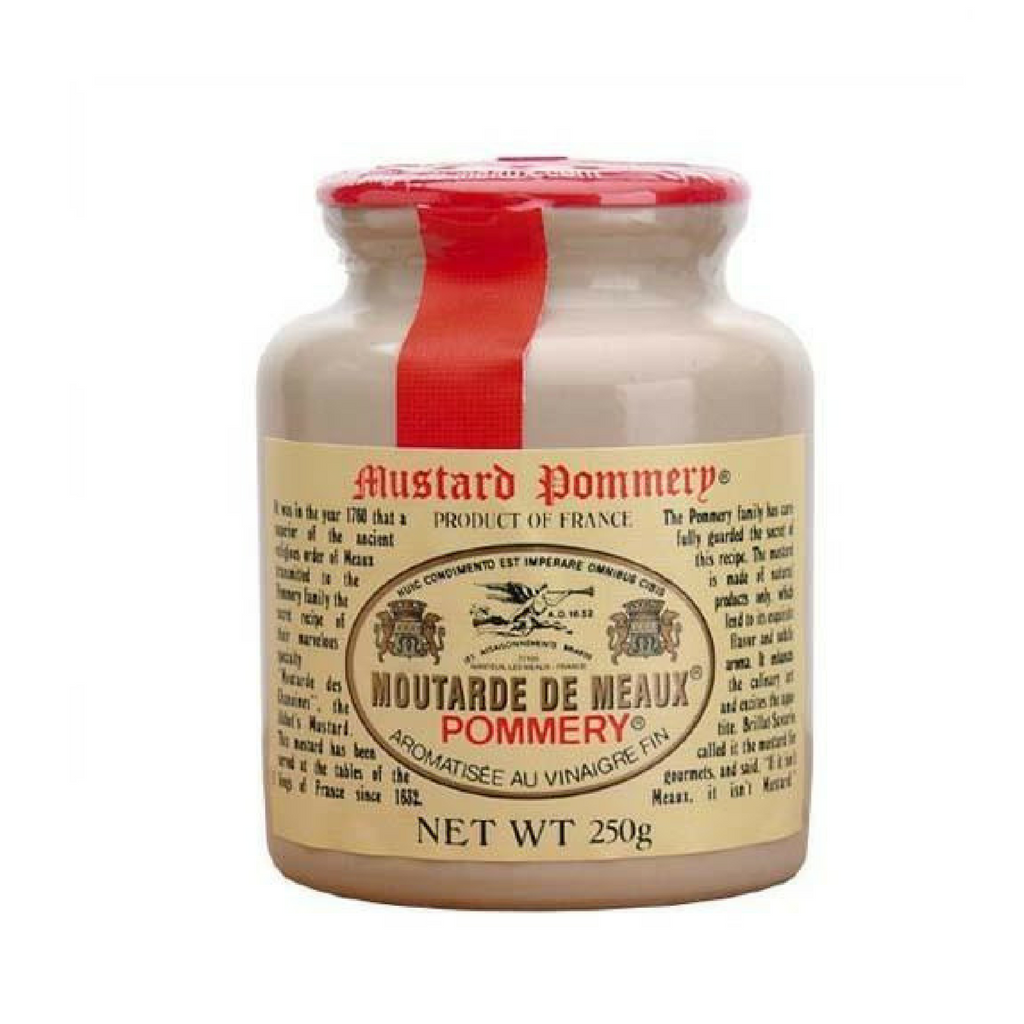 Pommery · Mustard from Meaux · 250g (8.8 oz)-FRENCH ÉPICERIE-Pommery-Le Tablier Bleu | Online French Supermaket