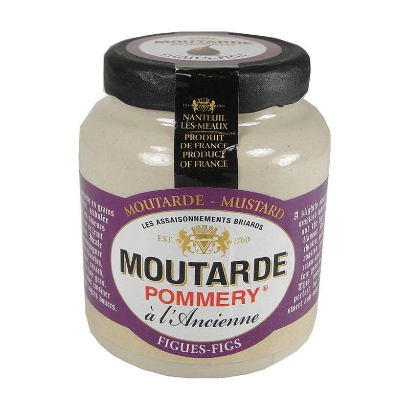 Pommery · Mustard w/ figs · 100g (3.5 oz)-FRENCH ÉPICERIE-Pommery-Le Tablier Bleu | Online French Supermaket