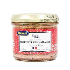 Pork Pate de Campagne by Henaff 3.2 oz-Henaff-Le Tablier Bleu | Online French Supermaket