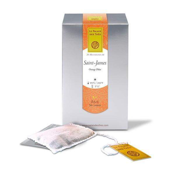 SAINT-JAMES black tea Black Tea from Sri Lanka - Palais Des Thes-PALAIS DES THES-Palais des Thes-Le Tablier Bleu | Online French Supermaket