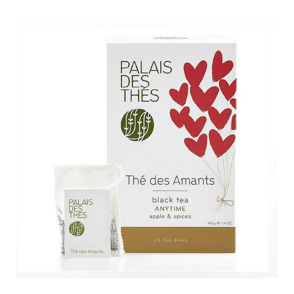 THÉ DES AMANTS black tea Signature Tea Blend from Paris - Palais Des Thes-PALAIS DES THES-Palais des Thes-Le Tablier Bleu | Online French Supermaket