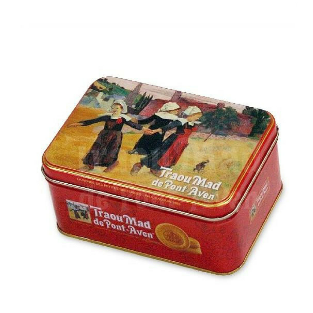 The Traou Mad de Pont-Aven - French Butter Cookies - Decorative Tin - 130g-DESSERTS & SWEETS-Traou Mad-Le Tablier Bleu | Online French Supermaket