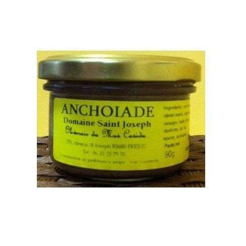 Vignolis · Anchoïade with Nyons olives AOC · 90g (3.2 oz)-FRENCH ÉPICERIE-Vignolis-Le Tablier Bleu | Online French Supermaket