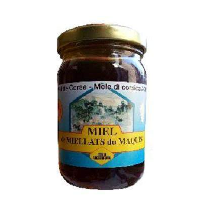Villeneuve · Corsican scrub honey · 250g (8.8 oz)-FRENCH ÉPICERIE-Villeneuve Miels-Le Tablier Bleu | Online French Supermaket