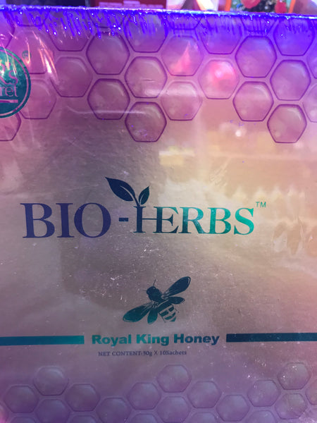 BIO -- HERBS Royal King Honey