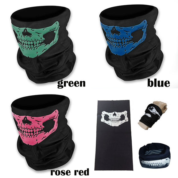 Stoned To The Bone Skull Bandanna Neck/Face Mask
