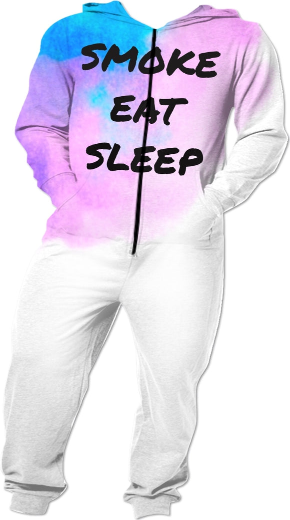 Smoke Eat Sleep Onesie