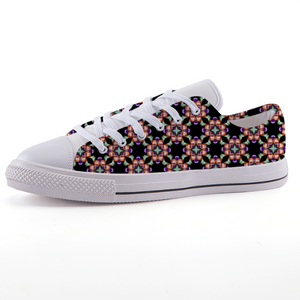 Ganja Girl Low-Top Fashion Canvas Shoes