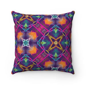 Crazy Shapes Pillow
