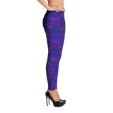 Purple Hearts Leggings