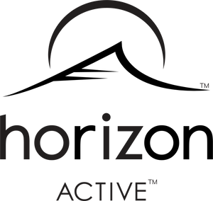 Horizon Active logo with trademark symbol, and consisting of both text and icon
