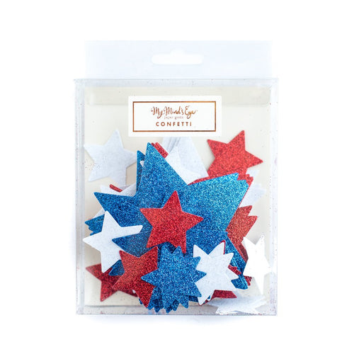 Stars & stripes confetti