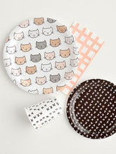Kitten Party Large Plates