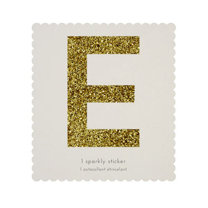 """PEACE"" Chunky Gold Letter Stickers"