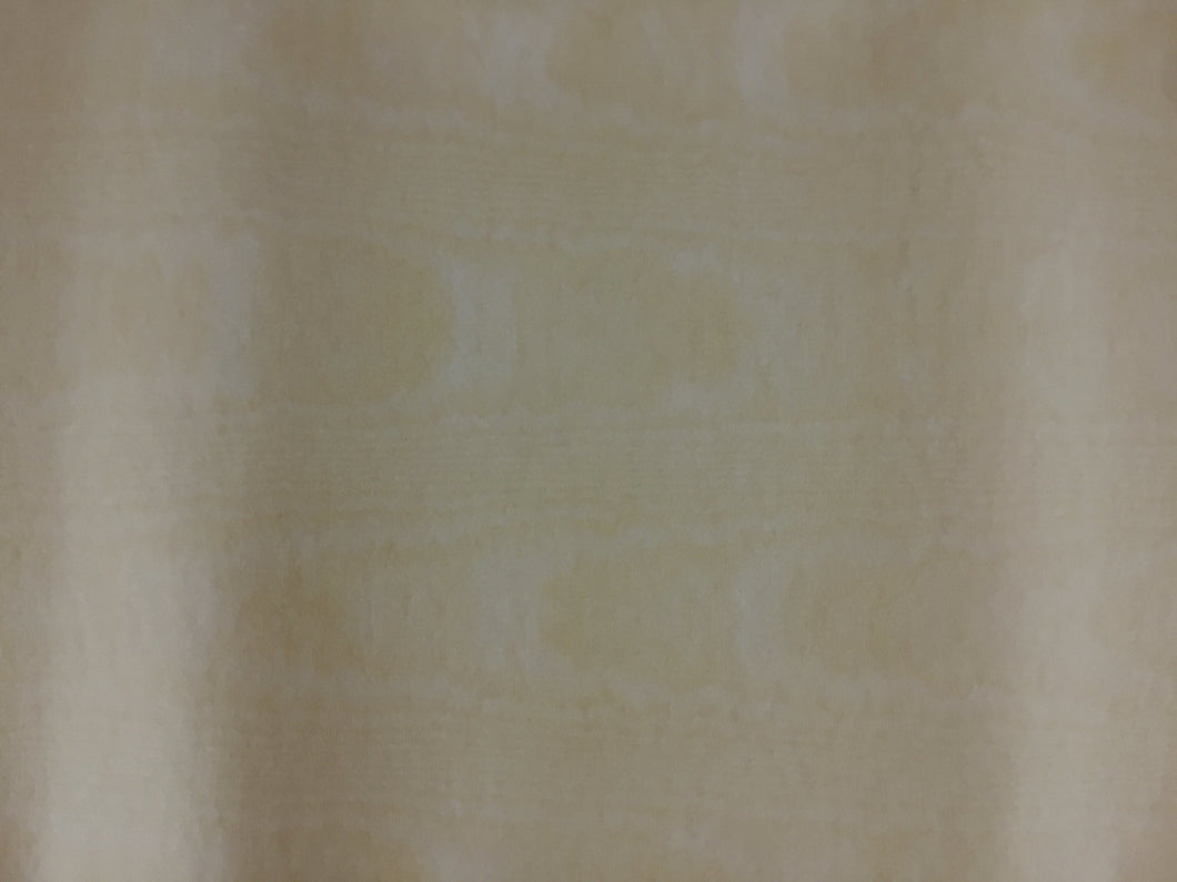 Moire Ivory Table Cover