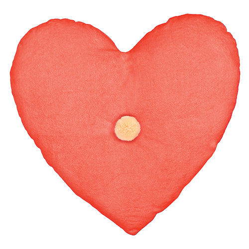 Heart Velvet Pillow