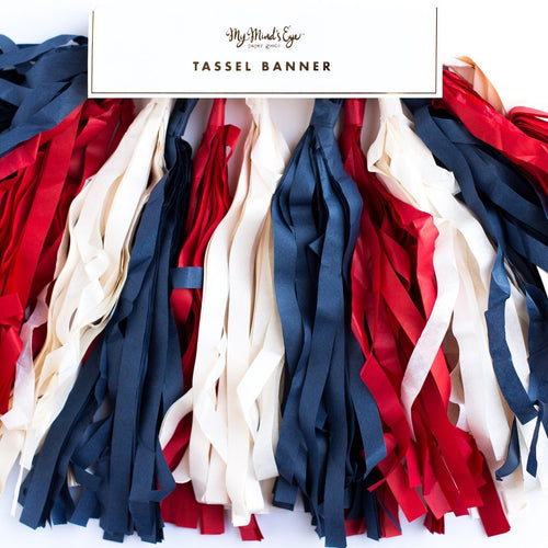Stars & stripes tassels