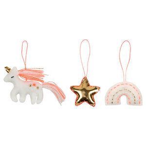 Unicorn Mini Hanging Decorations