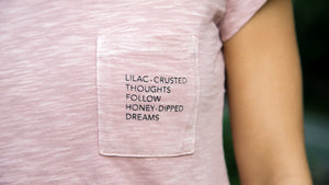 """Lilac Dreams"" Pocket Poem"