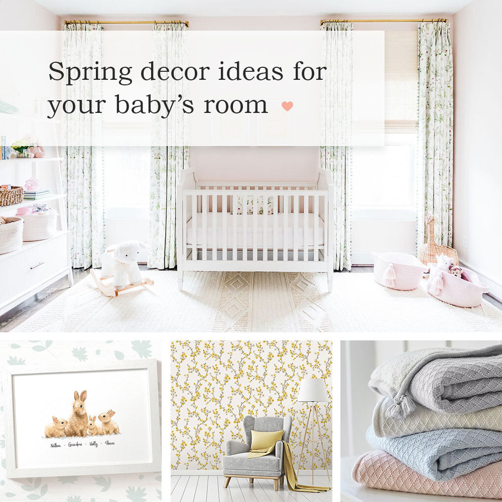 Bright and beautiful spring decor ideas for your baby's nursery