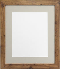 "10x12"" frame with 8x10"" mount Metro Vintage Wood frame available on Amazon"