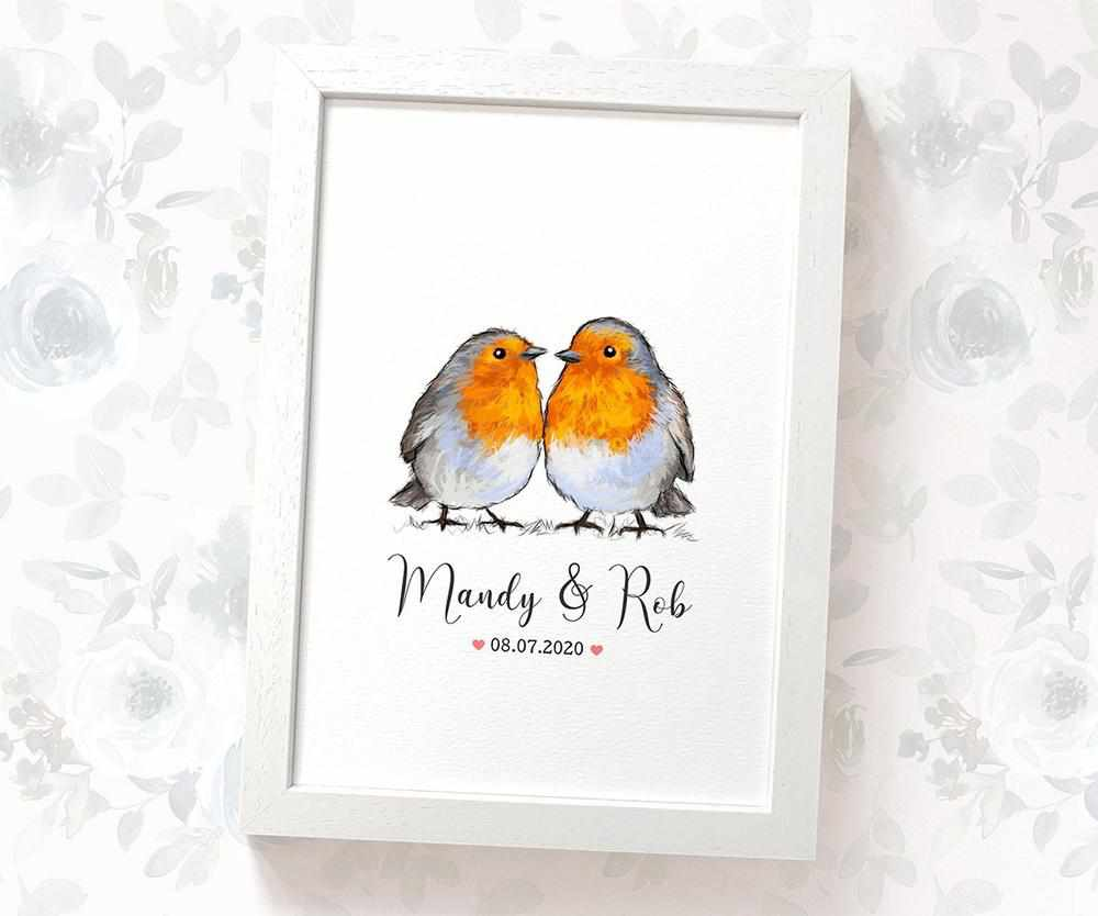 Robins wedding name sign