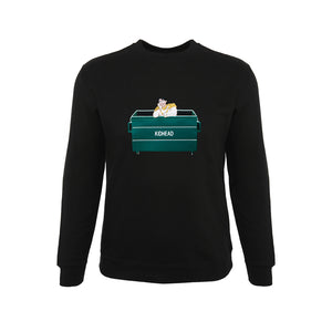 THE DUMPSTER PRINCE SWEATER