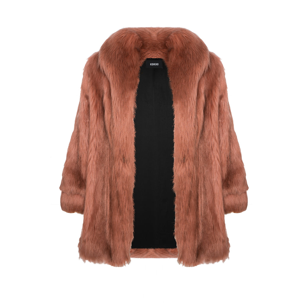 THE LOS ROSE FUR COAT