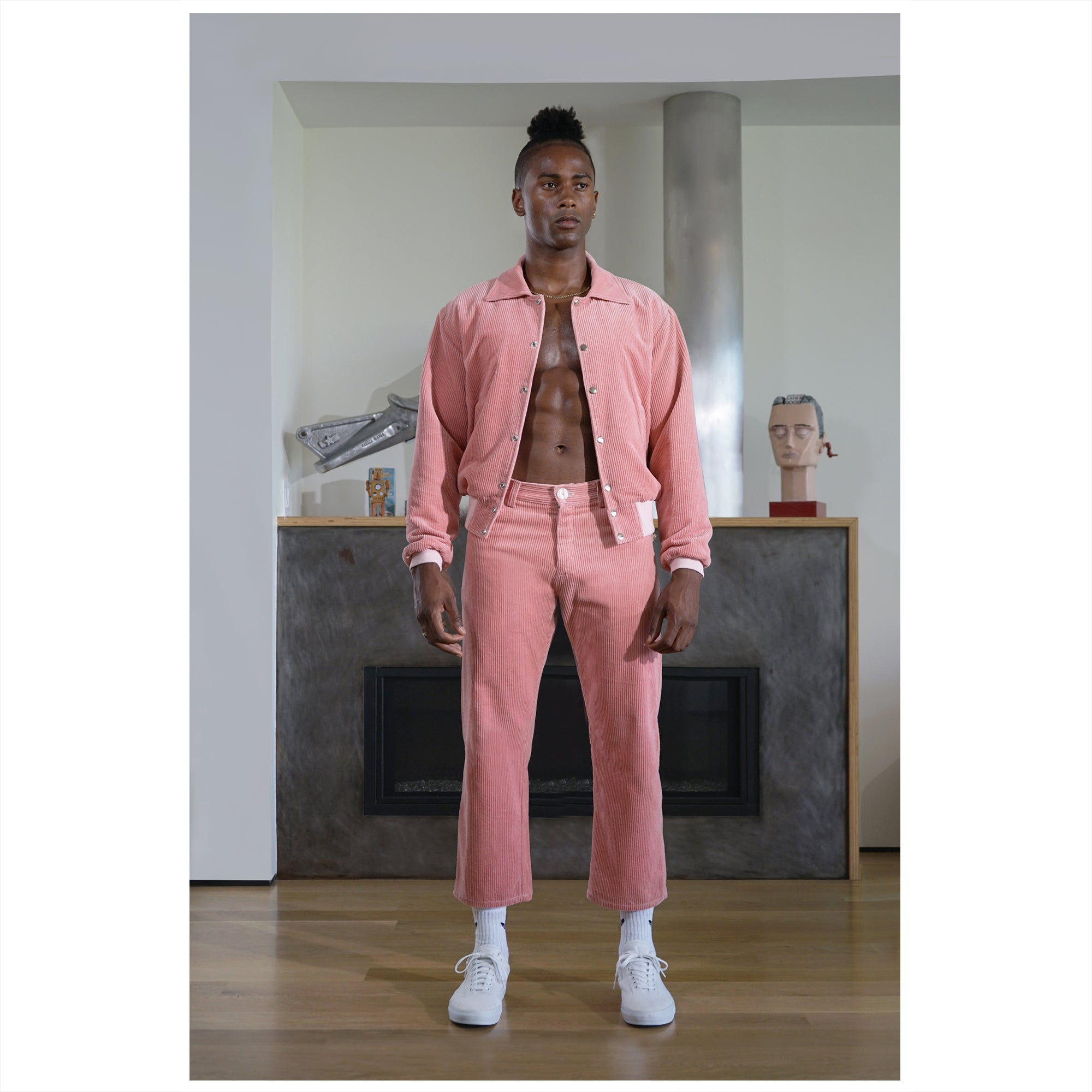 THE HALF PINK BOMBER