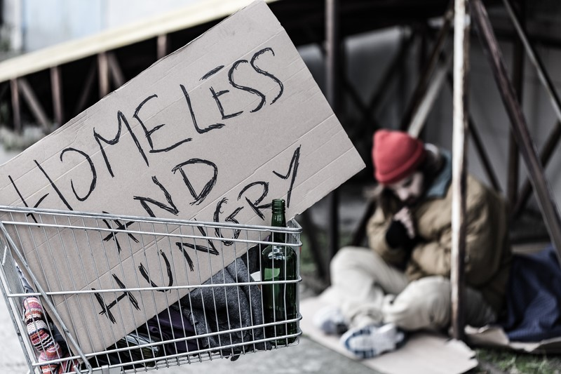 One step forward, one step back: aid for the homeless