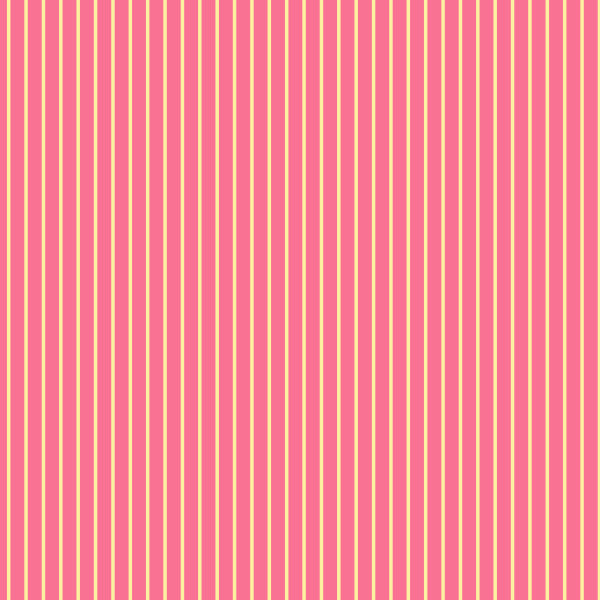 Pinstripe in Pink - Cotton Fabric By The Yard
