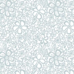Daisy in Dewdrop - Cotton Fabric By The Yard