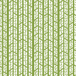Aspens in Avocado - Cotton Fabric By The Yard
