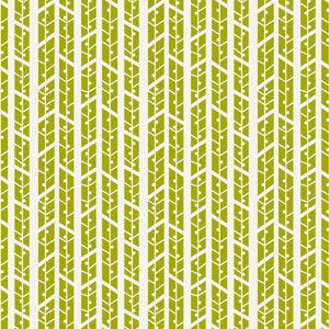 Aspens in Grass - Cotton Fabric By The Yard