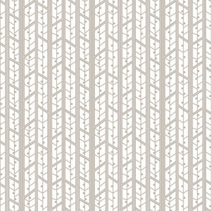 Aspens in Grey - Cotton Fabric By The Yard