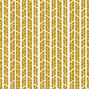 Aspens in Amber - Cotton Fabric By The Yard