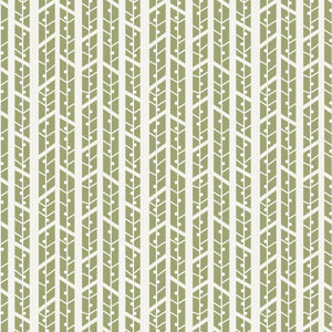 Aspens in Khaki - Cotton Fabric By The Yard