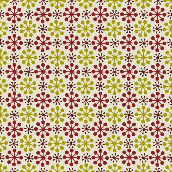 Florette in Berry - Cotton Fabric By The Yard