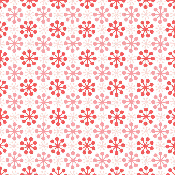 Florette in Blush - Cotton Fabric By The Yard