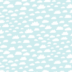 Clouds - Cotton Fabric By The Yard