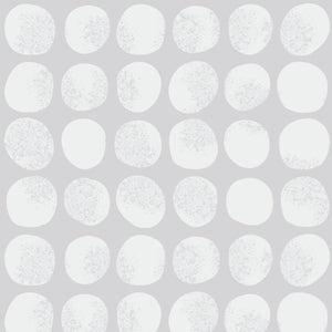 Dots in White - Cotton Fabric By The Yard