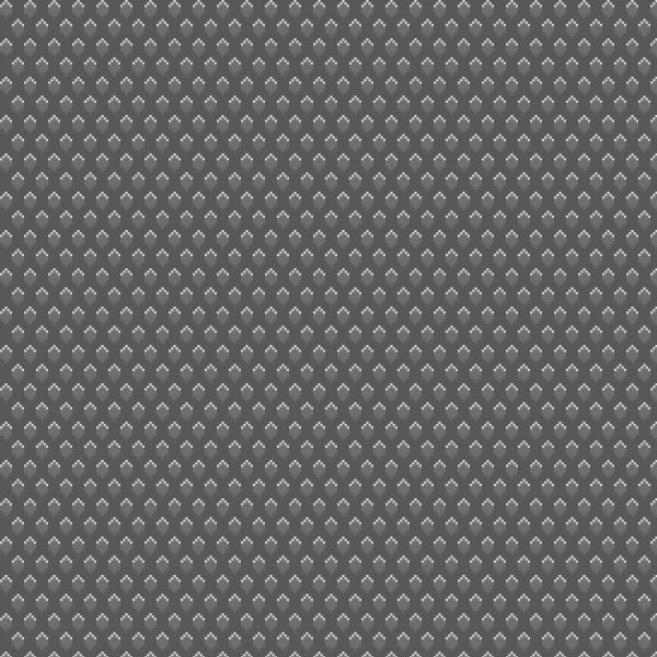 Bitty Dots in Dk Gray - Cotton Fabric By The Yard