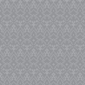 Bitty Damask in Gray - Cotton Fabric By The Yard