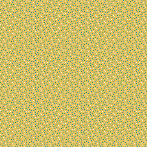Herbe Jardin Dot in Yellow - Cotton Fabric By The Yard